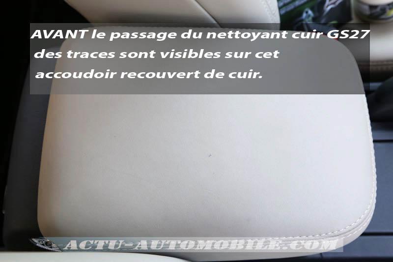 Essai kit soin & rénovation cuir GS27