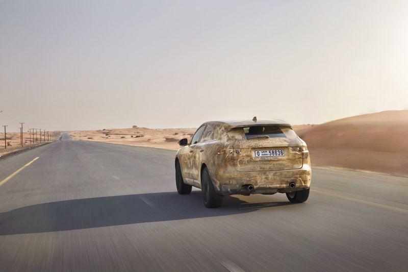 Jaguar F-Pace : le premier SUV Jaguar !