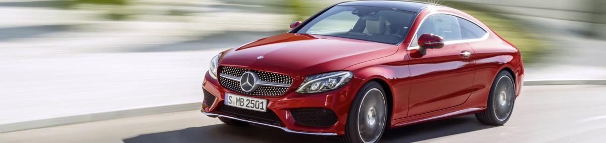 Nouvelle Mercedes Classe C Coupé