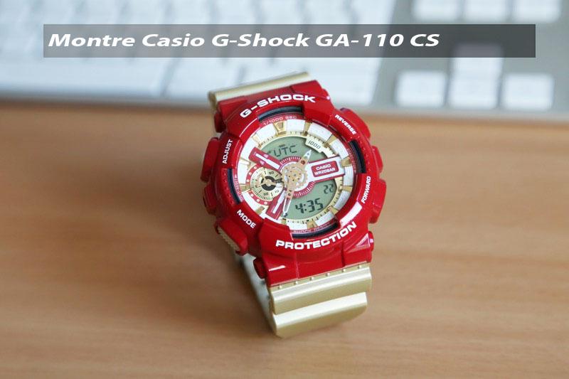 Casio GA-110 CS