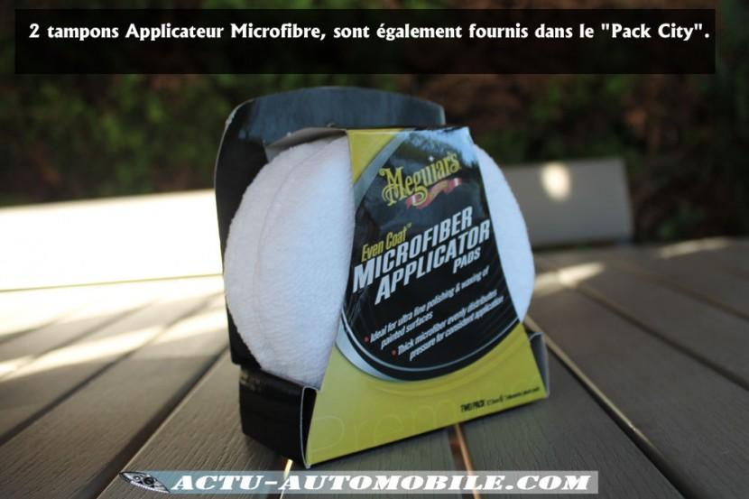 Tampons Applicateur Microfibre