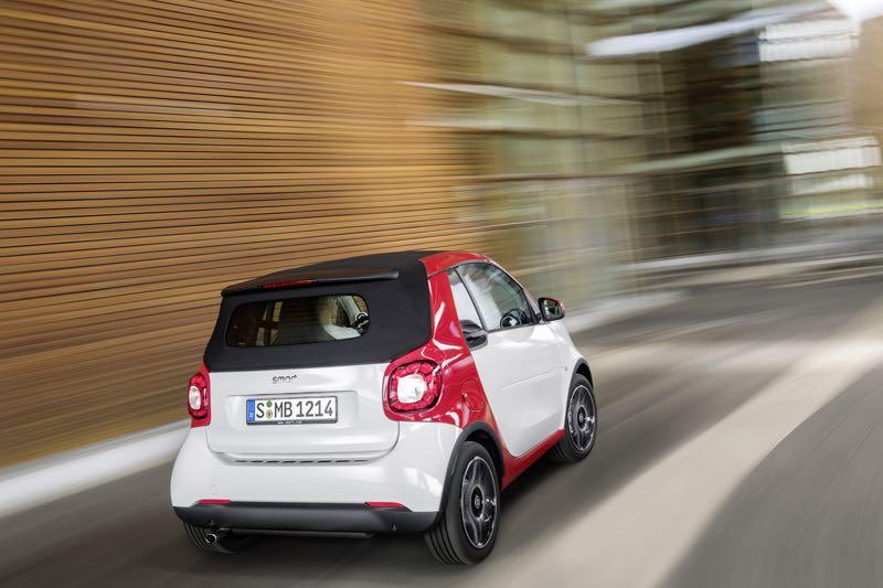 Nouvelle Smart Fortwo Cabrio