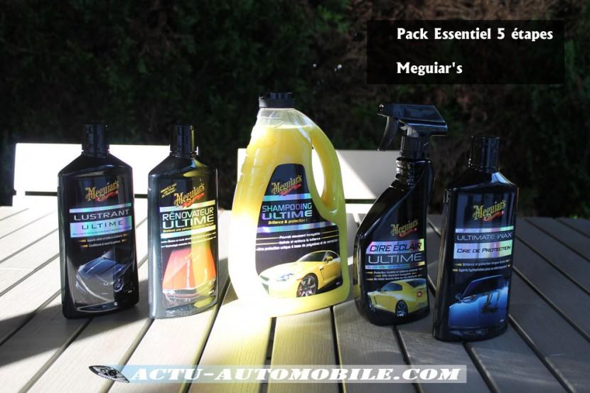 Pack Essentiel 5 étapes Meguiar's