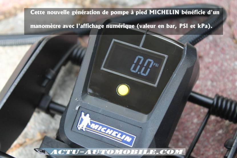 Pompe à pied Micheline double cylindre