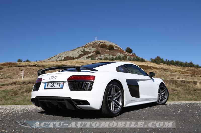 Essai nouvelle Audi R8 V10 Plus