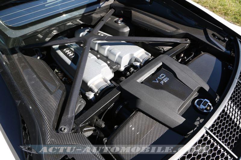 Moteur V10 de la nouvelle Audi R8