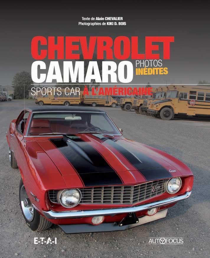 Chevrolet Camaro sports car à l'américaine
