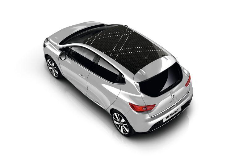 Stripping de toit Renault Clio Iconic gris platine