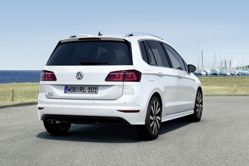 Volkswagen Golf Sportsvan : le pack R Line