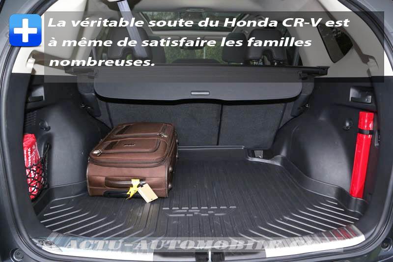 Coffre Honda CR-V 2015