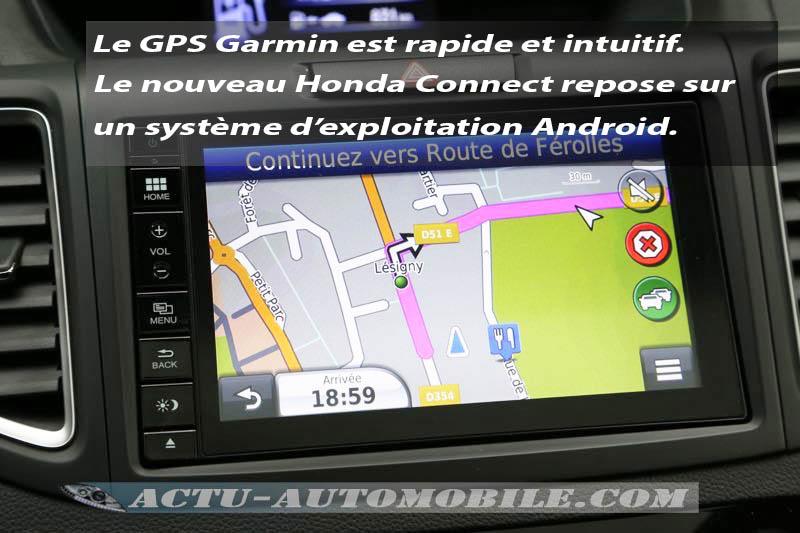 Nouveau système Honda Connect du Honda CR-V