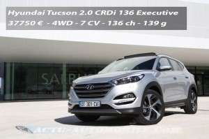 Essai nouveau Hyundai Tucson