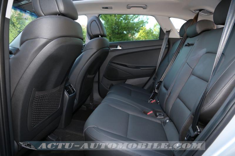 Banquette arrière nouveau Hyundai Tucson