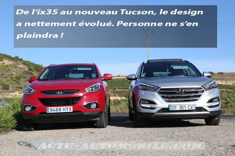 Hyundai iX35 et Tucson