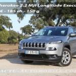 Essai Jeep Cherokee 2.0 Multijet 185 : nouveau coeur