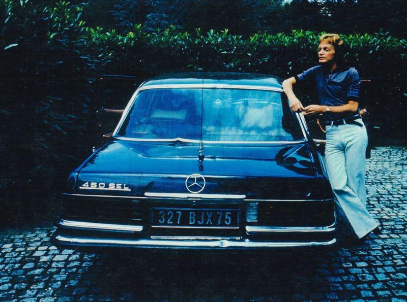 Mercedes 450 SEL de Claude François