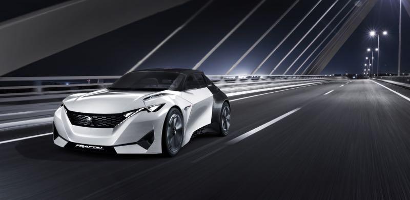 Peugeot Fractal : le concept pour Francfort