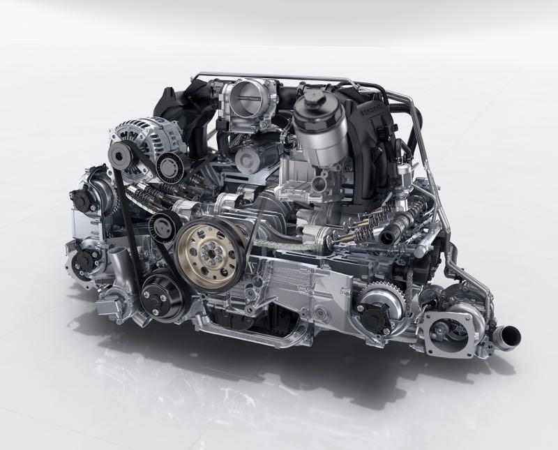Porsche 911 restylée