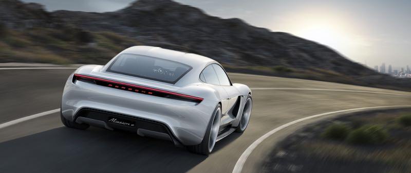 Concept Porsche Mission E