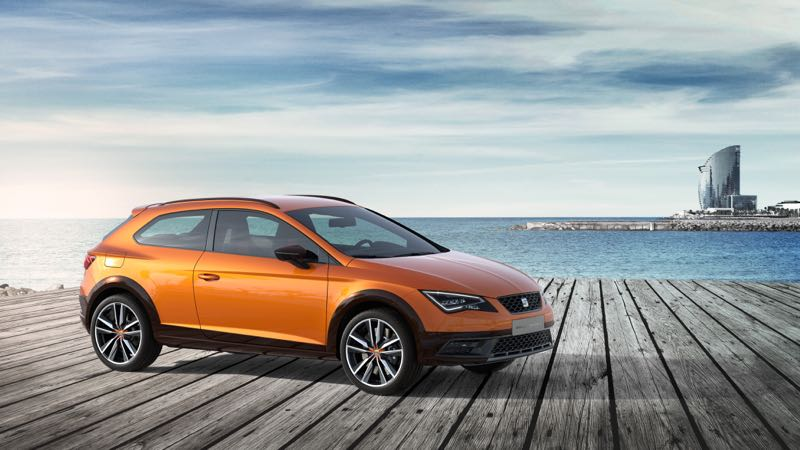 seat leon cross sport cupra x perience actu automobile. Black Bedroom Furniture Sets. Home Design Ideas
