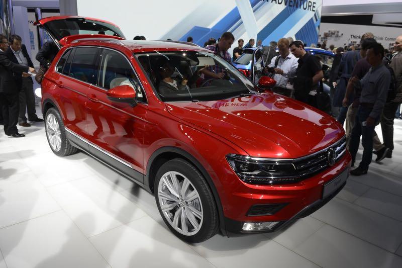 Volkswagen Tiguan à Francfort