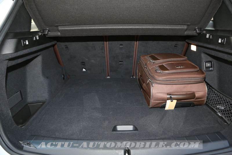 Coffre du nouveau BMW X1
