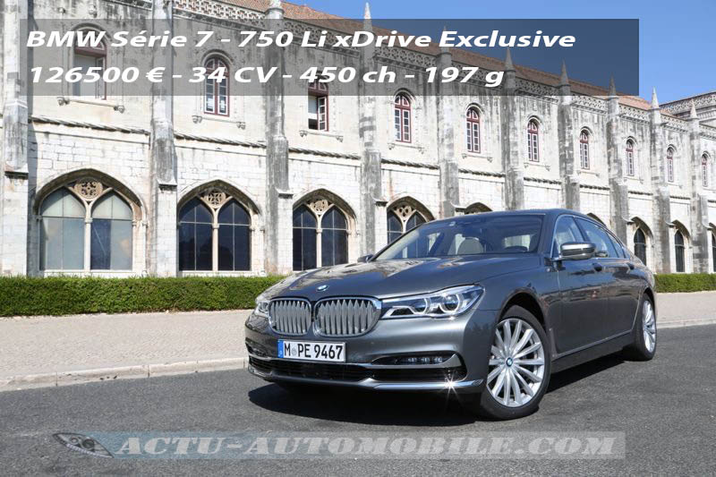 Essai nouvelle BMW Série 7