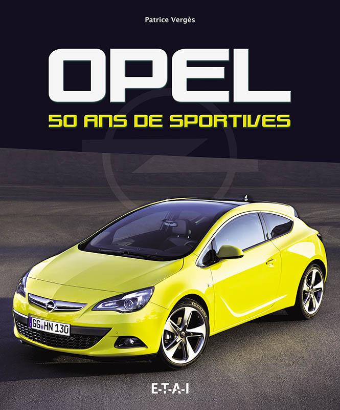 Livre : Opel 50 ans de sportives