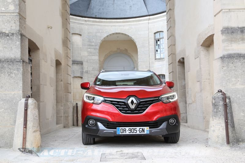 Renault Kadjar Intens rouge flamme