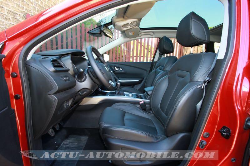 Sièges avant Renault Kadjar Intens avec option cuir