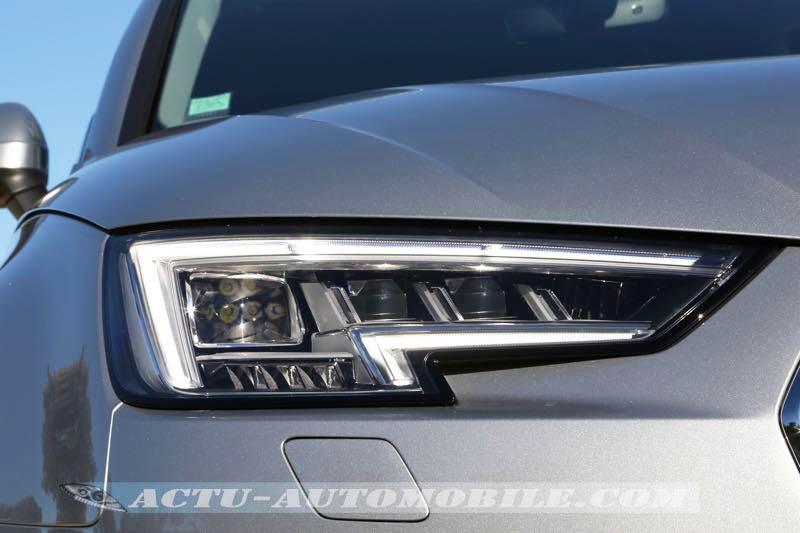 Phare Matrix LED sur la nouvelle Audi A4