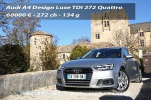 Essai nouvelle Audi A4 V6 TDI 272 Tiptronic Quattro