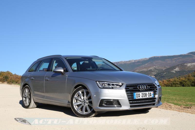 Essai nouvelle Audi A4 Avant 2015
