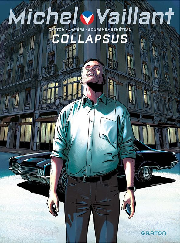 Livre : Michel Vaillant, Collapsus