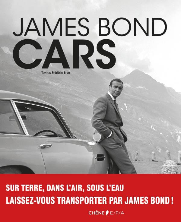 Livre : James Bond Cars de Frédéric Brun