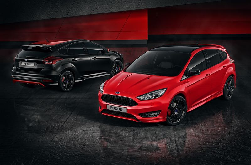 Ford Focus Red Edition et Black Edition