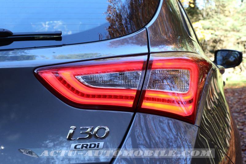 Feu arrière à LED Hyundai i30 restylée