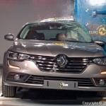 5 étoiles Euro NCAP pour les Renault Mégane et Talisman