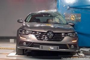 Renault Talisman au crash test Euro NCAP