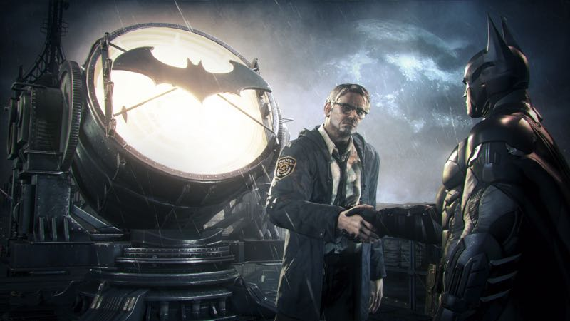 Batman Arkham Knight sur PS4