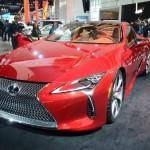 Lexus LC 500 : flamboyante !