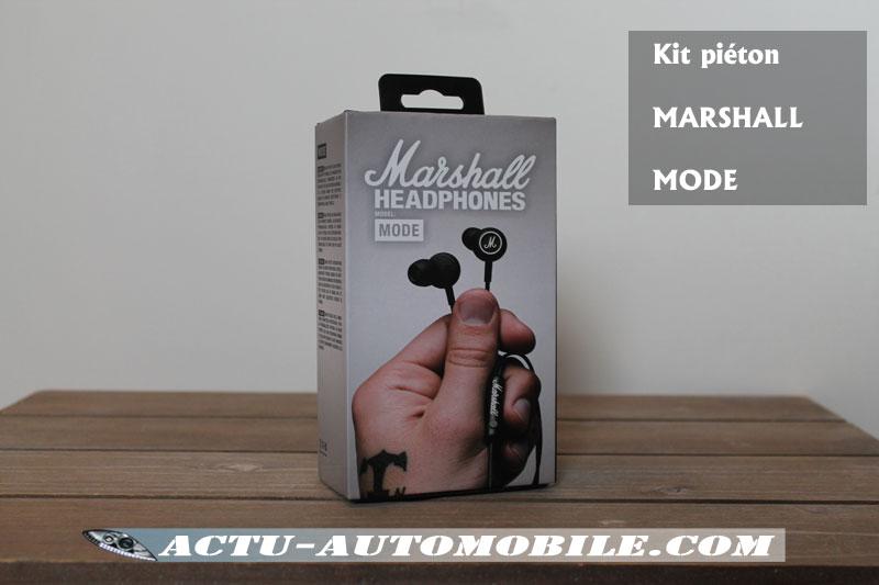 Kit piéton Marshall Mode