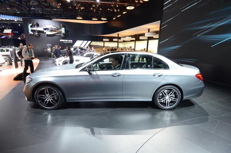 nouvelle Mercedes Classe E à Detroit