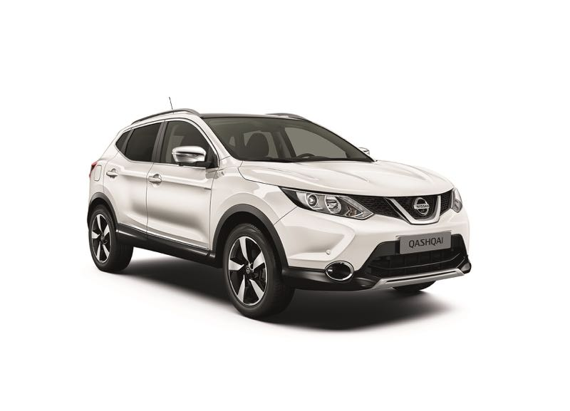 nissan qashqai white edition. Black Bedroom Furniture Sets. Home Design Ideas
