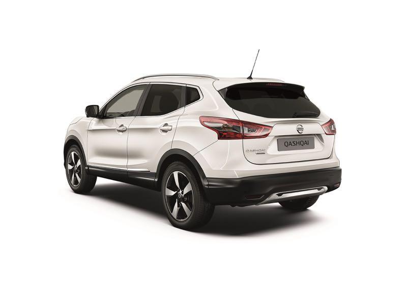Nissan Qashqai White Edition