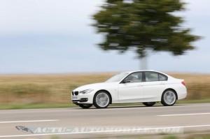 Essai Pirelli P Zero sur BMW Série 3