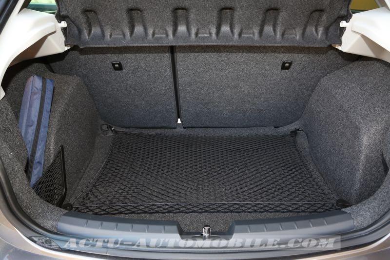 Coffre de la Seat Ibiza