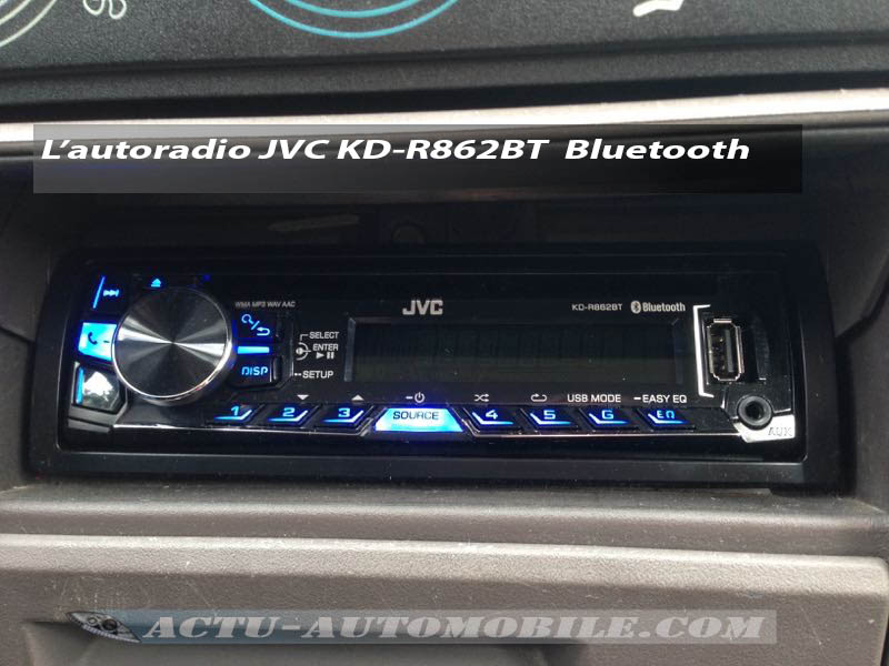 autoradio jvc bluetooth kd r862bt. Black Bedroom Furniture Sets. Home Design Ideas