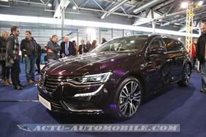 La Renault Talisman Estate à la Fête de la roue à Mulhouse