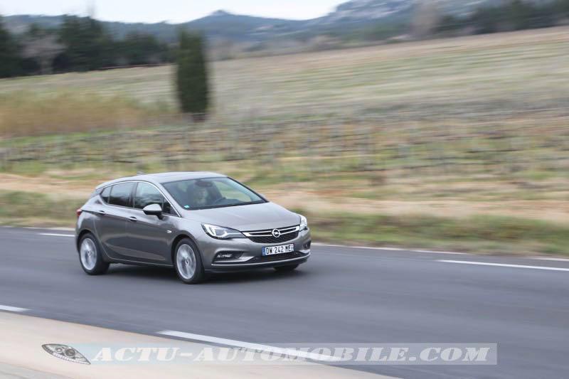 Essai de l'Opel Astra 1.6 CDTI 110